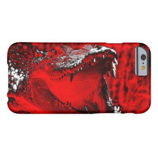 Crocodile Teeth Reptilian Artwork Barely There iPhone 6 Case