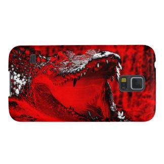 Crocodile Teeth Reptilian Artwork Case For Galaxy S5