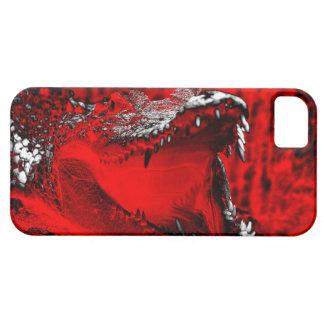 Crocodile Teeth Reptilian Artwork iPhone SE/5/5s Case