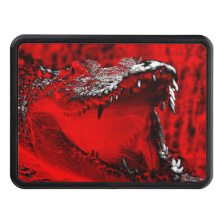 Crocodile Teeth Reptilian Artwork Trailer Hitch Cover