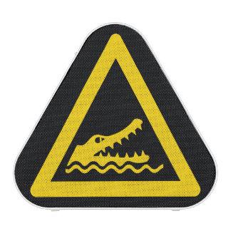 Crocodile Warning Sign Speaker