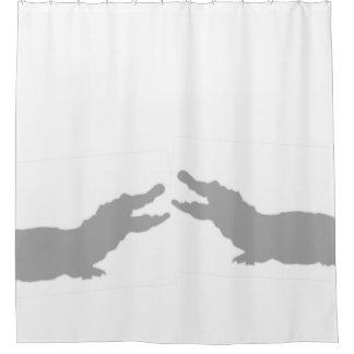 Crocodiles shower curtain