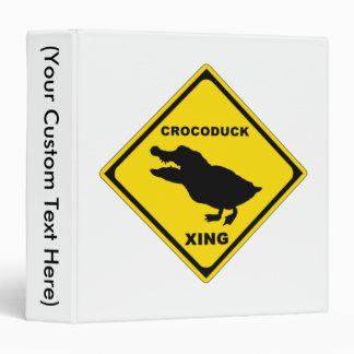 Crocoduck Crossing Binder