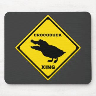 Crocoduck Crossing Mousepad