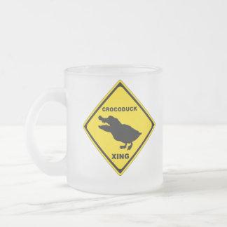 Crocoduck Crossing Mug
