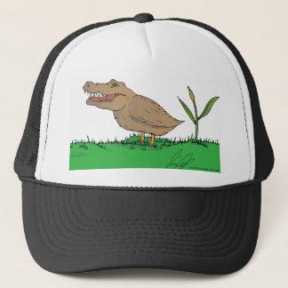 Crocoduck hat in colour!
