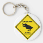 Crocoduck Key Chain