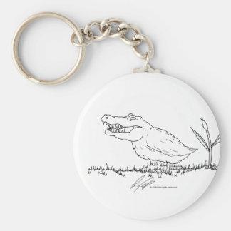 Crocoduck keychain