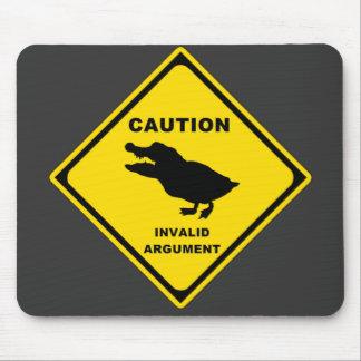 Crocoduck Mouse Pad