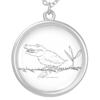 Crocoduck Necklace