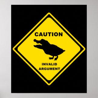Crocoduck Posters