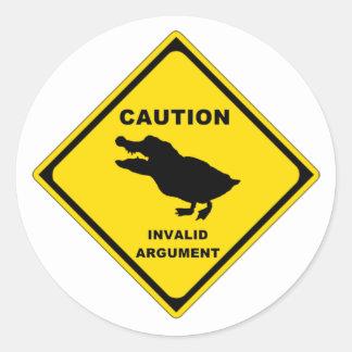 Crocoduck Sticker