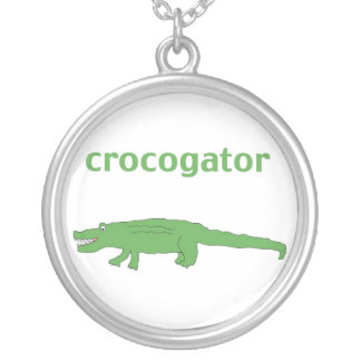 Crocogator necklace