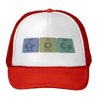 Crocs-Cr-O-Cs-Chromium-Oxygen-Caesium.png Gorros Bordados