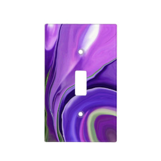 """Crocus Abstract15"" switchplate cover"