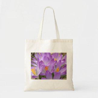crocus canvas bags