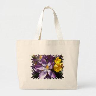 Crocus Colors Canvas Bag