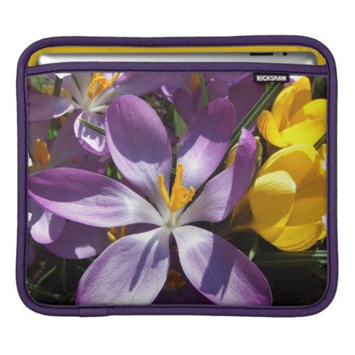 Crocus Colors  iPad Sleeve