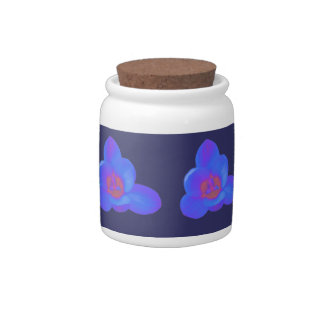 Crocus Flower Hot and Cold Candy Jar