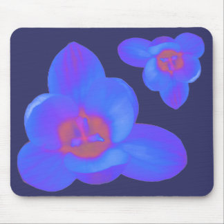 Crocus Flowers Hot and Cold Mousepad