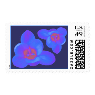 Crocus Flowers Hot and Cold US Postage Stamp