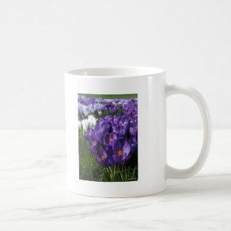 Crocus Flowers Painterly Coffee Mug