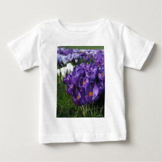 Crocus Flowers Painterly Shirt