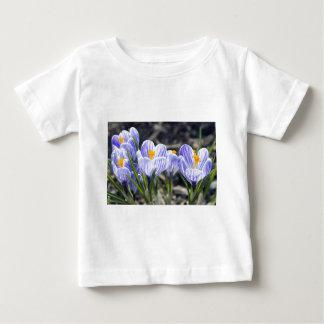 Crocus Flowers Tee Shirt