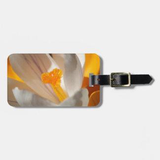 crocus luggage tag