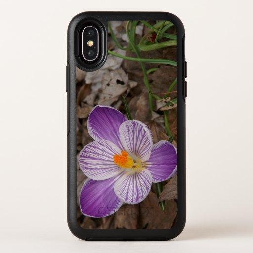 Crocus, Otterbox iPhone X Case.