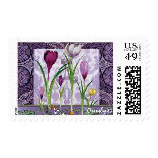 Crocus stamp