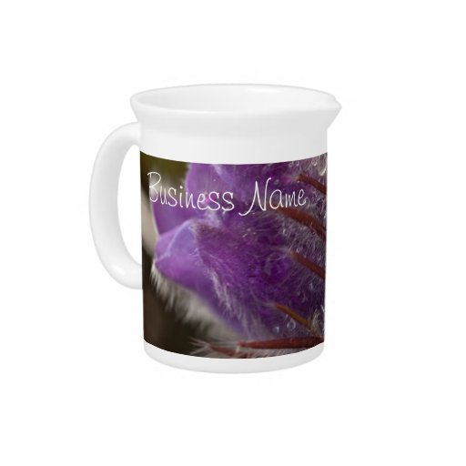 Crocus with Water Beads; Promotional Pitcher