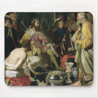 Croesus and Solon, 1624 Mouse Pad