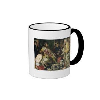 Croesus and Solon, 1624 Ringer Mug