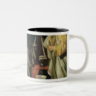 Croesus and Solon, 1624 Two-Tone Coffee Mug