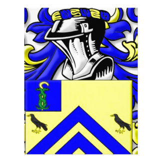 Crofoot Coat of Arms Letterhead Template