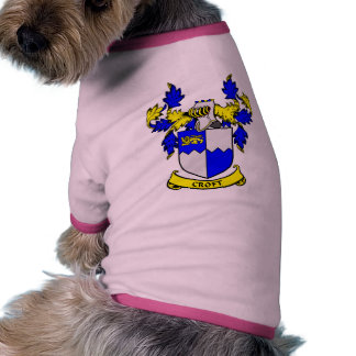 CROFT Coat of Arms Doggie T Shirt