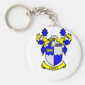 CROFT Coat of Arms Keychain