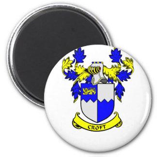 CROFT Coat of Arms Fridge Magnets