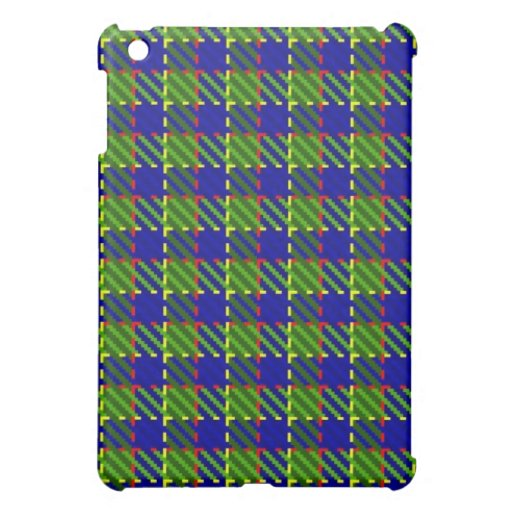 Croft Green Plaid Cover For The iPad Mini