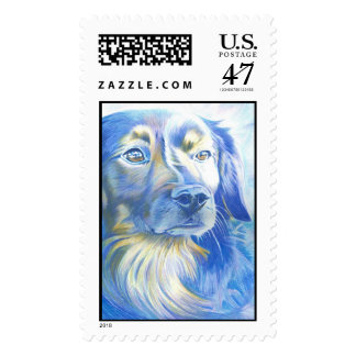 crofton the friendly dog postage stamp