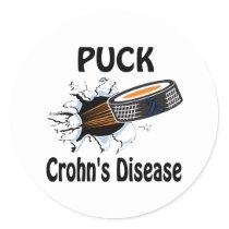 Crohn&Apos;S-Disease Classic Round Sticker