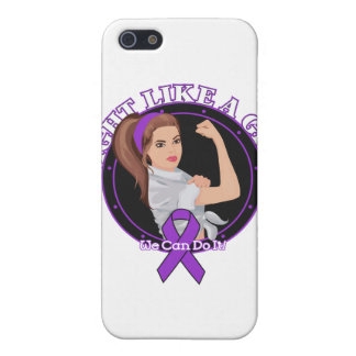 Crohn s Disease Fight Like A Girl Modern Rosie Cases For iPhone 5