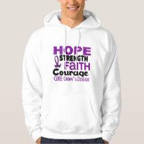 Crohn's Disease HOPE 3 Hoodie