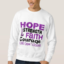 Crohn's Disease HOPE 3 Sweatshirt