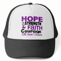 Crohn's Disease HOPE 3 Trucker Hat