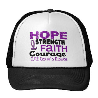 Crohn's Disease HOPE 3 Trucker Hat