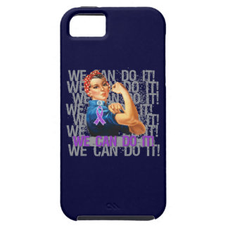 Crohn s Disease Rosie WE CAN DO IT iPhone 5 Cover