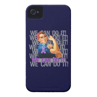 Crohn s Disease Rosie WE CAN DO IT Case-Mate iPhone 4 Case