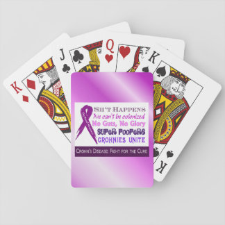 Crohn'a Humor Playing Cards